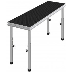 DJ laud 2x0,5m reguleeritav kõrgus