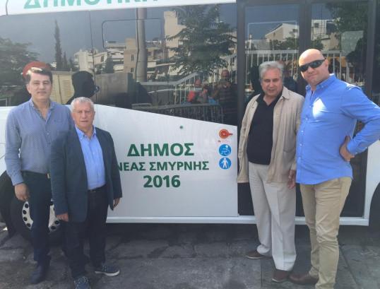 Ανανέωση Λεωφορείων Δημοτικής Συγκοινωνίας Δήμου Νέας Σμύρνης