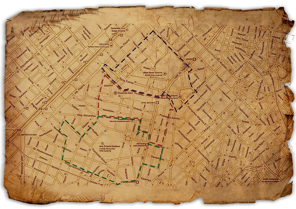 Ο Χάρτης από το Κυνήγι του Θησαυρού στη Νέα Σμύρνη