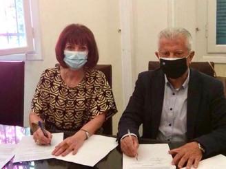 Μνημόνιο συνεργασίας μεταξύ Παντείου και Δήμου