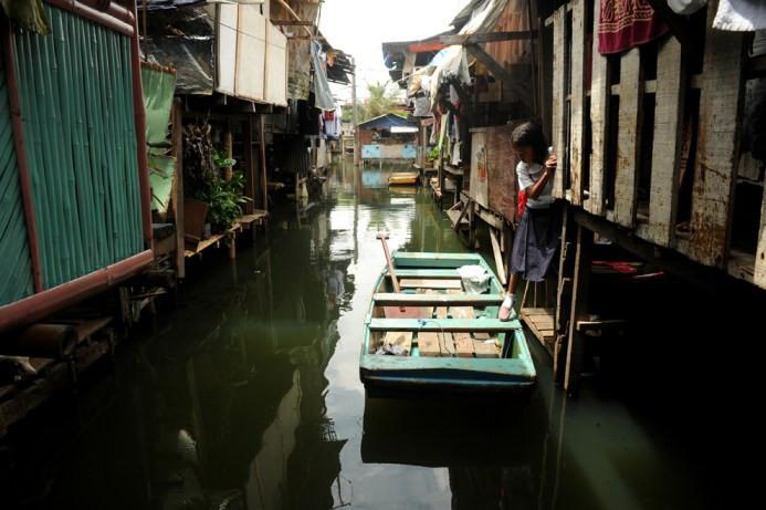 Malabon City, Μανίλα στις 14 Ιουνίου