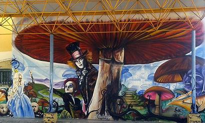 Graffiti στο 6ο-9ο Δημοτικό Σχολείο Νέας Σμύρνης