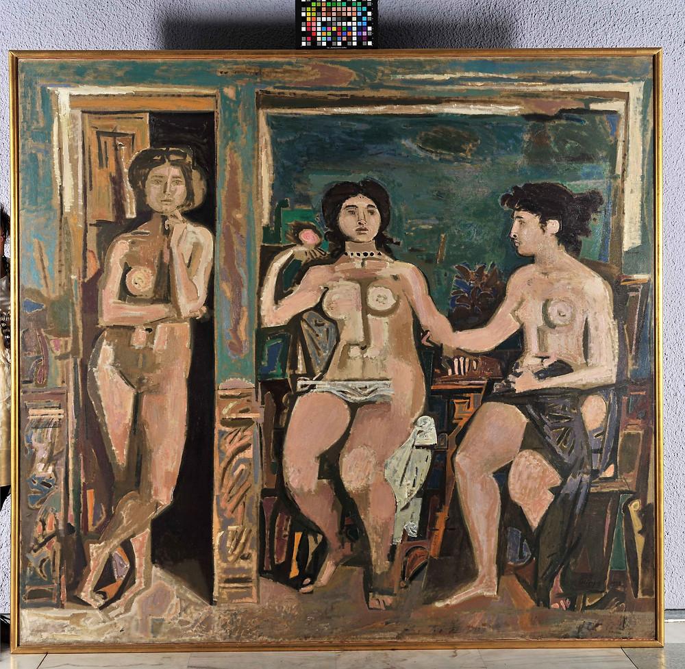 Έκθεση με έργα των Μόραλη και Καπράλου στο Κέντρο Πολιτισμού Ίδρυμα Σταύρος Νιάρχος