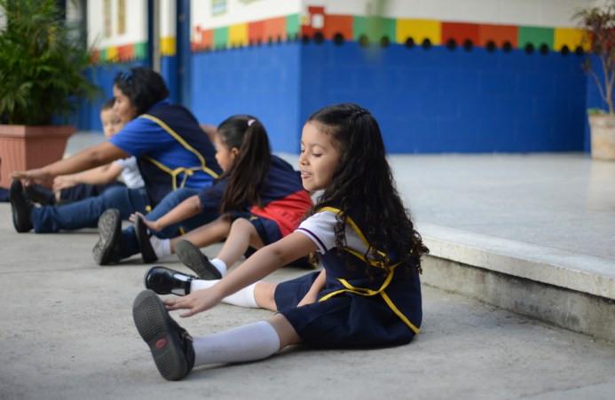 Σχολείο στην πόλη της Γουατεμάλα στις 8 Ιουλίου