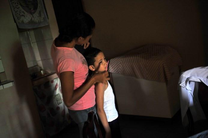 Ο Geral Sequeira πριν πάει στο σχολείο, στη γειτονιά La Carpio, στο Σαν Χοσέ, Κόστα Ρίκα στις 22 Αυγούστου