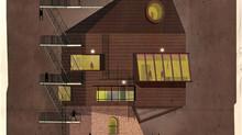 FEDERICO BABINA: Αρχιτεκτονικά σχέδια εμπνευσμένα από διάσημους σκηνοθέτες