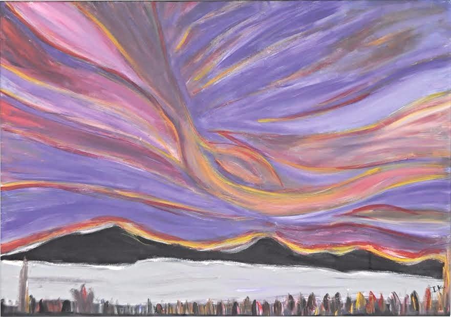 Εστία: Ζωγραφική έκθεση Ιωάννη Καραλιά