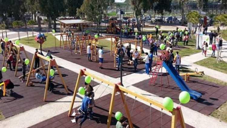 Η 1η παιδική χαρά για ΑμεΑ της Ελλάδας στο Π. Φάληρο