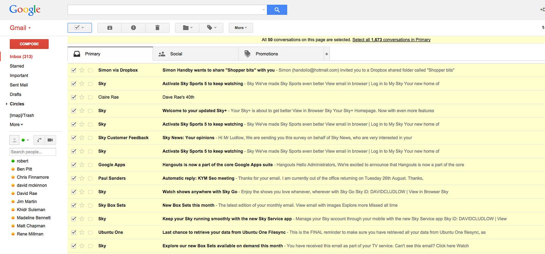 Πώς να διαγράψετε μηνύματα από το Gmail μαζικά και με έξυπνο τρόπο | Orizontes Data | Σχολή Πληροφορικής