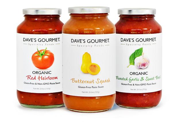 Image of Organic Red Heirloom, Butternut Squash, & Organic Roasted Garlic & Sweet Basil Pasta Sauce