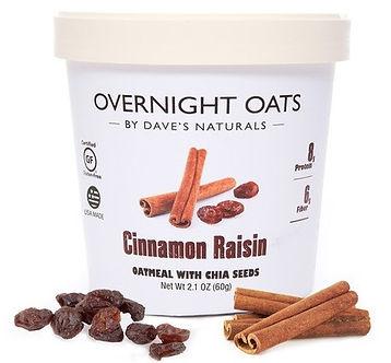 Cinnamon Raisin Overnight Oats