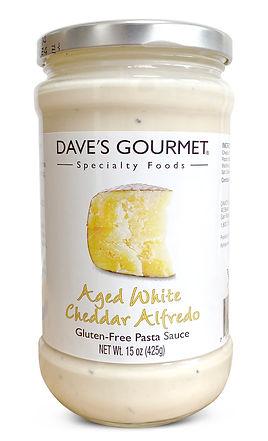 Aged White Cheddar Alfredo Pasta Sauce