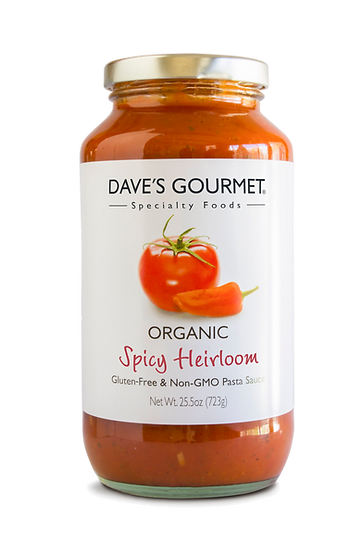 Organic Spicy Heirloom Pasta Sauce