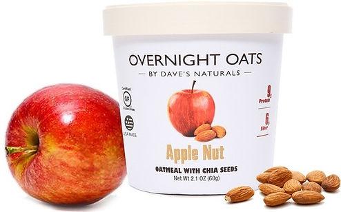 Apple Nut Overnight Oats