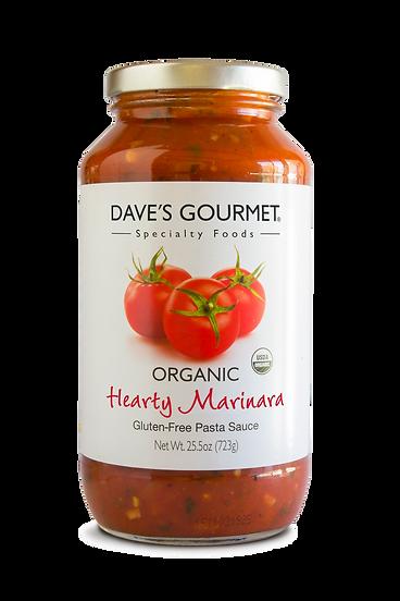 Organic Hearty Marinara Pasta Sauce