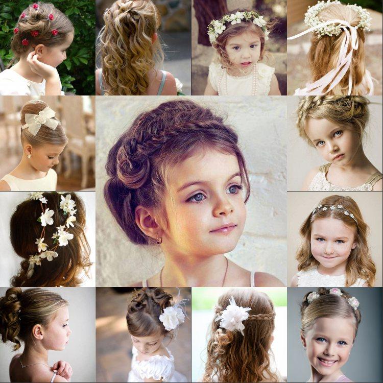 Susse Frisuren Fur Ihre Blumenmadchen Kleider Haus