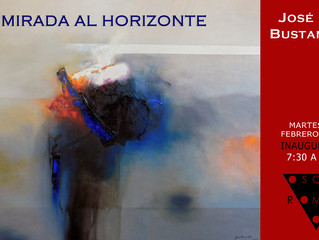 Upcoming exhibition in Mexico City - Jose Luis Bustamante @ Oscar Roman Gallery