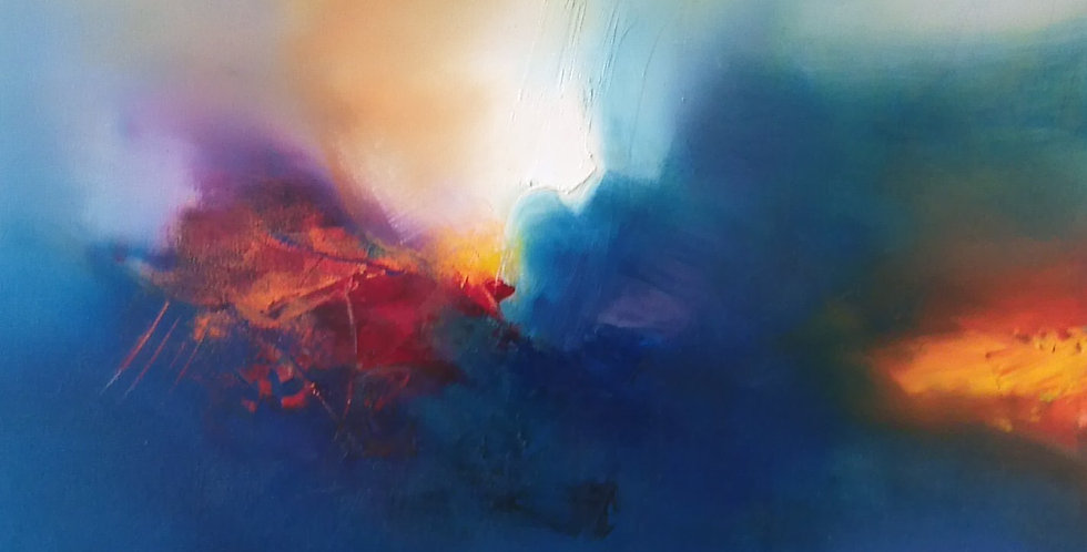 Landscape of the Sun Gods XIII 2016 80 x 90cm / 35 x 32in