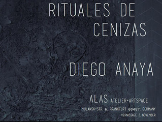Our Guest Artist Diego Anaya Solo Exhibition in Germany