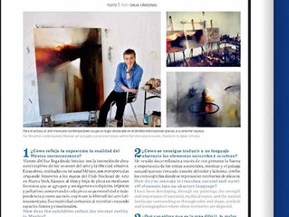 AIRE Magazine - Featuring Bustamante
