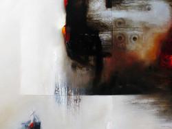 José_Luis_Bustamante,_Signo_y_espíritu_II,_2011,_óleo_y_hoja_de_plata_sobre_tela,_135_x_175_cm