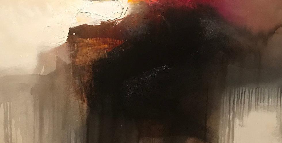 Landscape of the Sun Gods II 2016 80 x 90cm / 35 x 32in