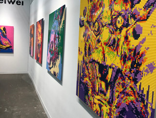 Bustamante Art Gallery Present at the Armory Show in NY 2019