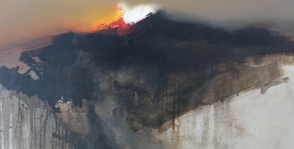 Landscape of the Sun Gods VIII 2016 80 x 90cm / 35 x 32in