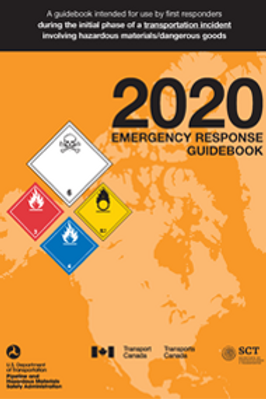 2020 Emergency Response Guidebook (ERG) - Full Size