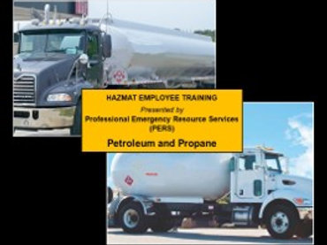 Petroleum & Propane - Online Hazmat Training