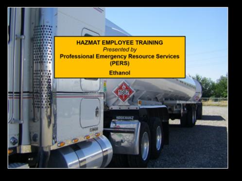 Ethanol- Online Hazmat Training