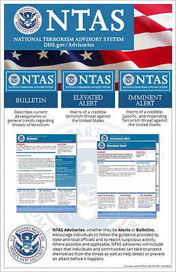 National Terrorism Advisory System Poster