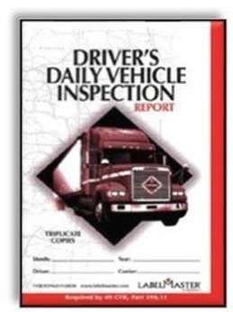 Driver's Daily Vehicle Inspection Report