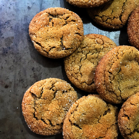 Sassy-Molassy: Chewy Molasses Cookies