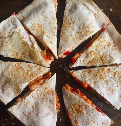 Tortilla Pizza-Pie – For Breakfast!