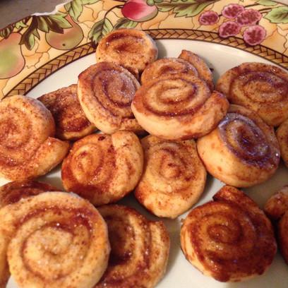 Pie-Crust Pinwheel Cookies
