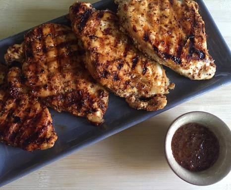 Wholegrain Mustard & Honey Grilled Chicken