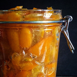Poached Kumquat Jam