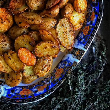 Golden Roasted Potatoes
