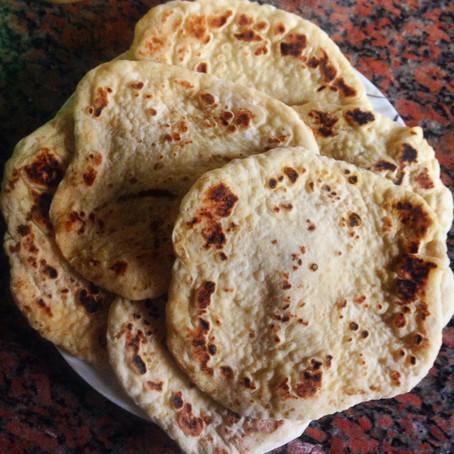 Soft Skillet Pita Bread