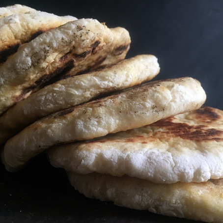 2-Ingredient Skillet Bread