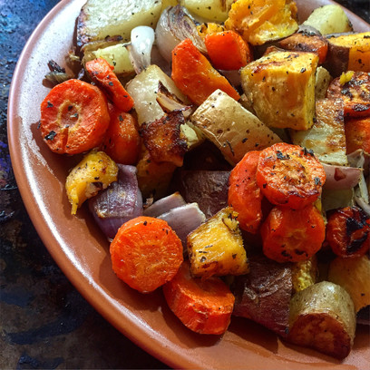 Easy Roasted Veggies in the Oven