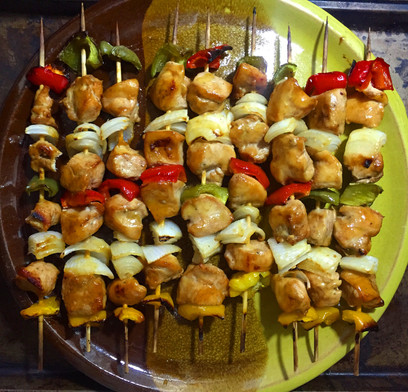 30-Minute Broiler Chicken Kebabs
