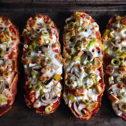 Focaccia Pizza Boats