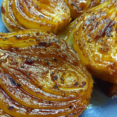 Balsamic & Soy Roasted Onions