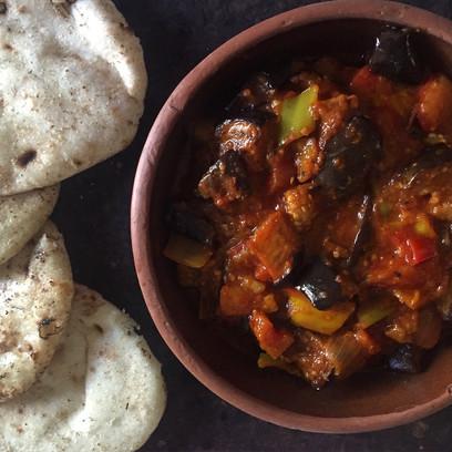 Egyptian Musaqa'a: Vegan-Style Aubergines