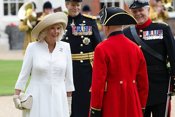 Duchess of Cornwall visits Chelsea Pensi
