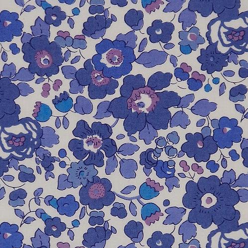 Shika Kimono - Blue Pansy