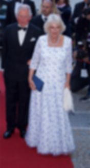 The Duchess of Cornwall wear a starry go