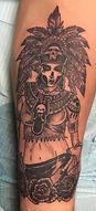 Mayan Goddess tattoo